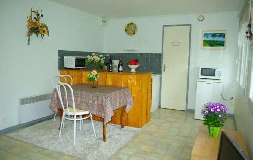 Location de vacances - Appartement à La Bresse - coin cuisine