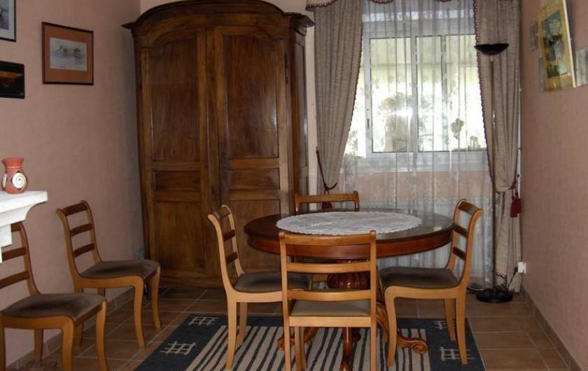 Location de vacances - Appartement à Arcachon - salle à manger