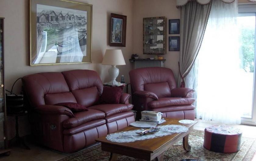 Location de vacances - Appartement à Arcachon - salon