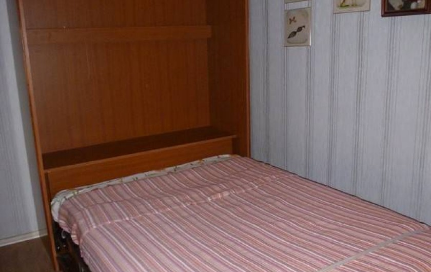 Location de vacances - Appartement à Arcachon - chambre 3 lit repliable