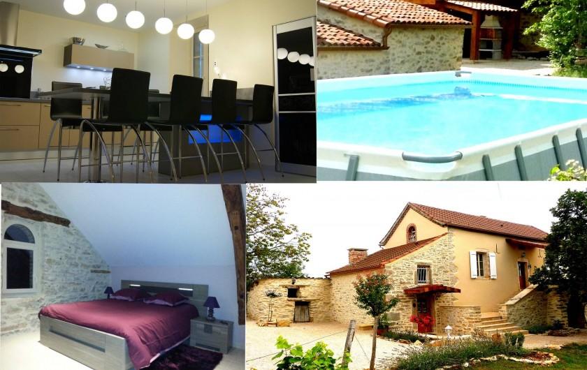 Location de vacances - Villa à Cahors - LA MAISON DU PECH