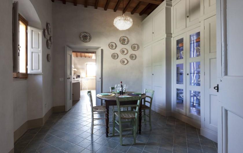 Location de vacances - Villa à San Donato In Collina - Office/Breakfast room