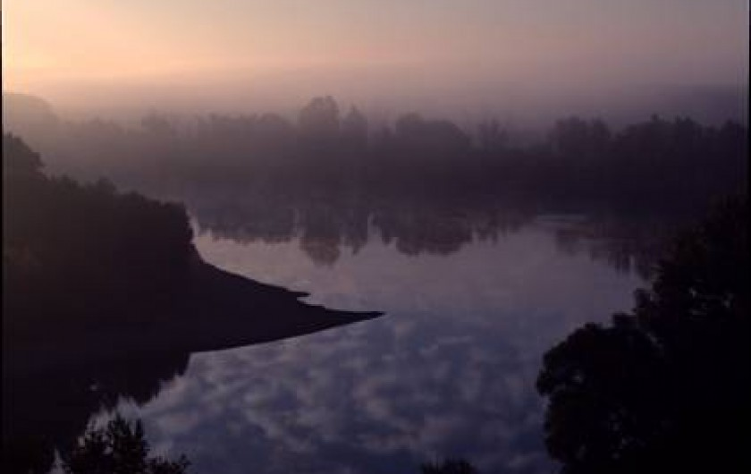 Location de vacances - Gîte à Meilhan-sur-Garonne - Garonne au petit matin depuis le tertre de Meilhan sur Garonne