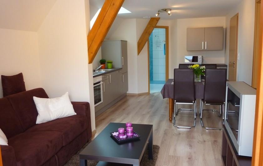"""Location de vacances - Gîte à Orschwiller - """"Myriam"""" pièce à vivre"""