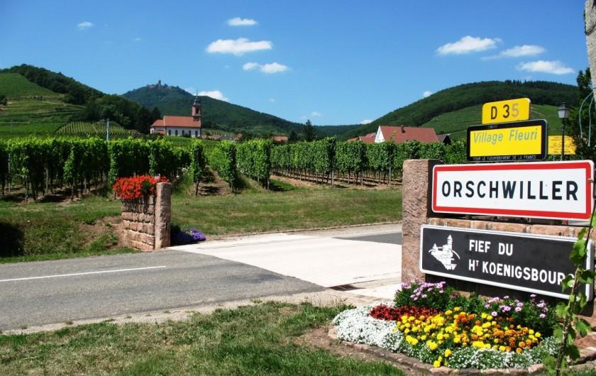 """Location de vacances - Gîte à Orschwiller - """"Marie Jeanne"""" Chambre Alsacienne"""