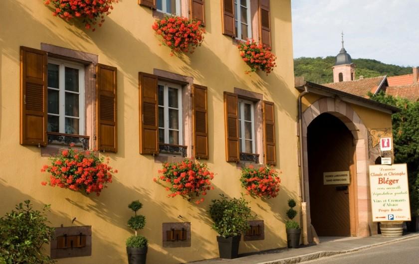 """Location de vacances - Gîte à Orschwiller - """"Marie Jeanne"""" Chambre Zen"""