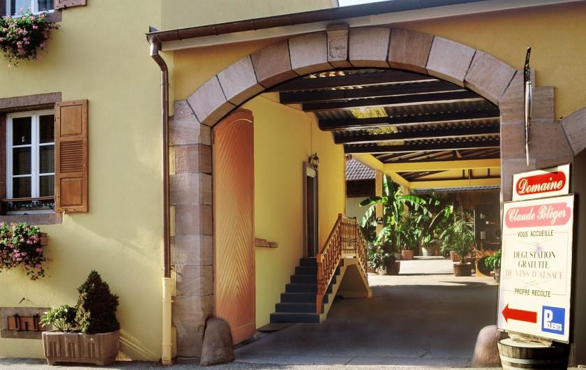 Location de vacances - Gîte à Orschwiller - Entrée