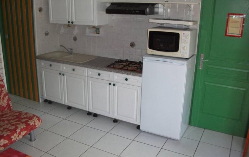Location de vacances - Appartement à Berrwiller - coin cuisine