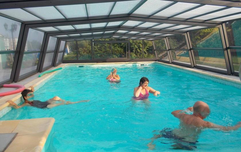 Location de vacances - Appartement à Berrwiller - piscine couverte à partager avec les propriétaires