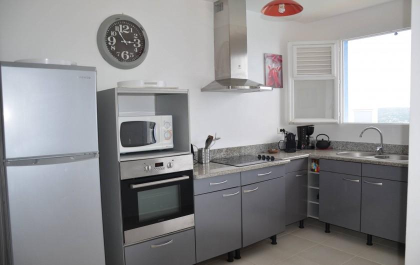 Location de vacances - Villa à Le Diamant - Cuisine