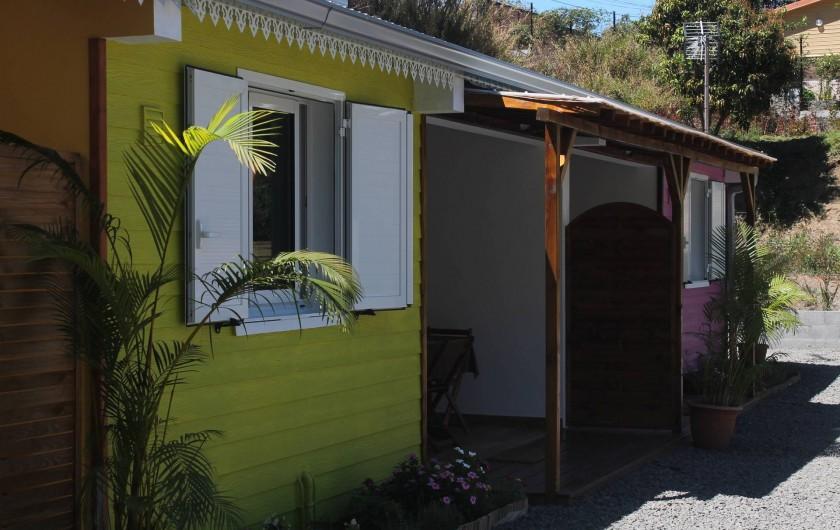 Location de vacances - Chalet à Cilaos - villa les cases prés du lac