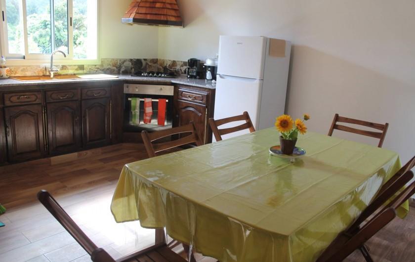 Location de vacances - Chalet à Cilaos - coin séjour