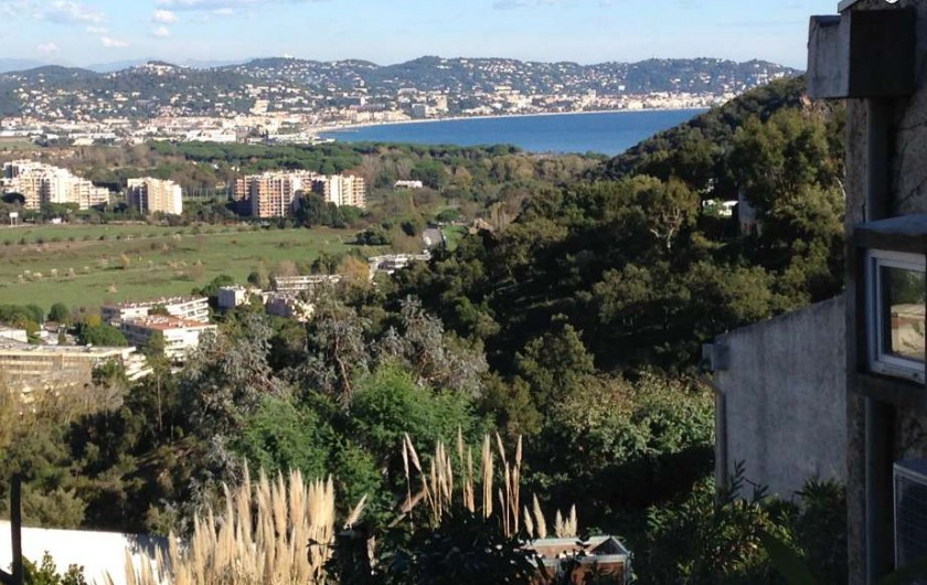 Location de vacances - Studio à Mandelieu-la-Napoule - vue du studio