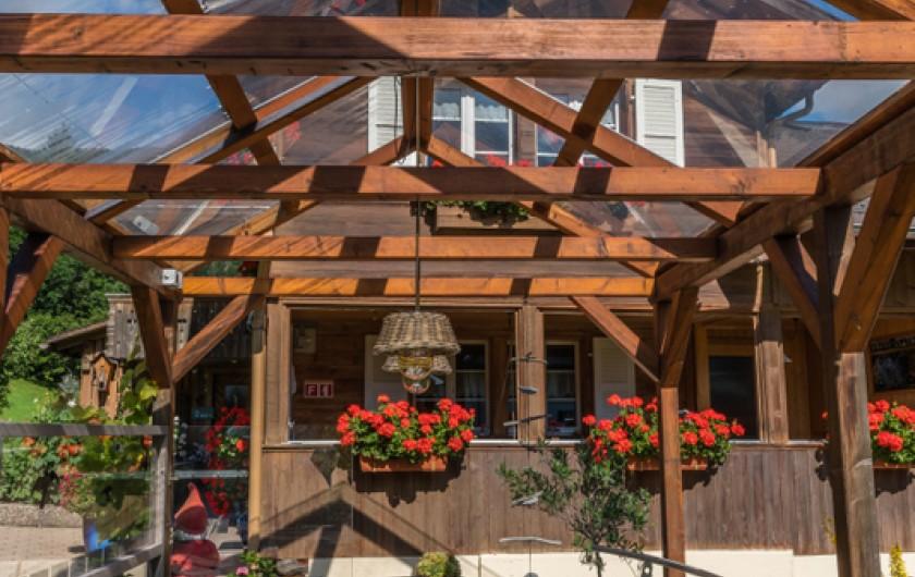 Location de vacances - Appartement à Grindelwald - chambre à coucher orange