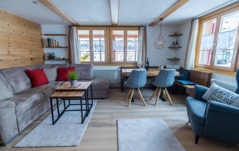 Location de vacances - Appartement à Grindelwald - salle de séjour