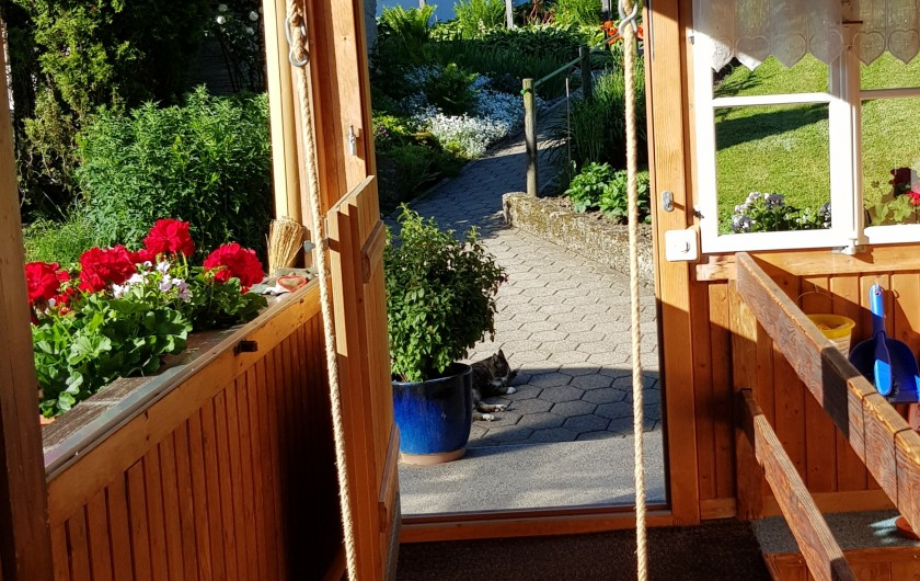 Location de vacances - Appartement à Grindelwald - Chalet im Boden côté sud