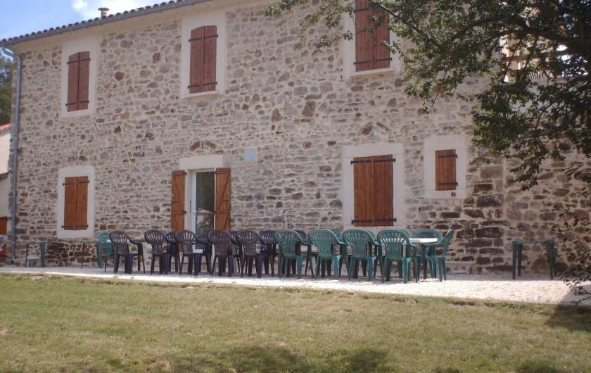 Location de vacances - Gîte à Grospierres - Mas de la Chataigneraie