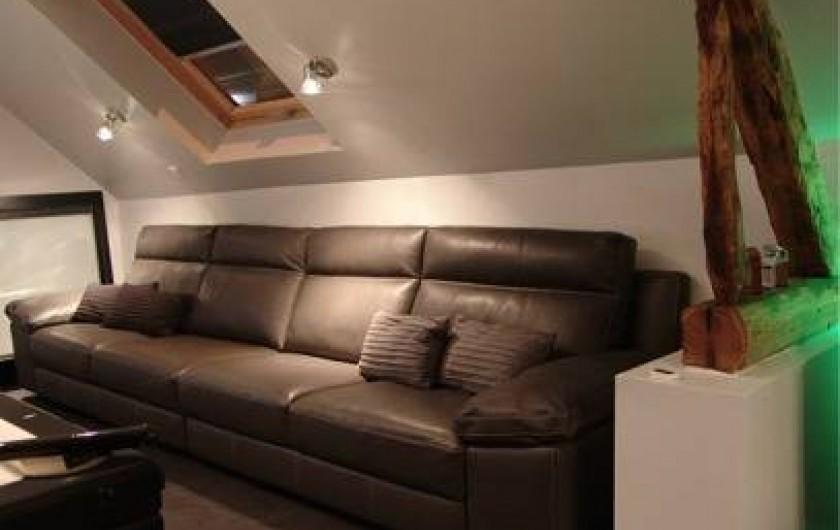 Location de vacances - Chambre d'hôtes à Acheux-en-Amiénois - Salle détente étage
