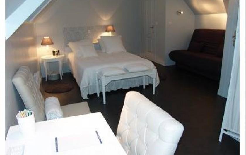 Location de vacances - Chambre d'hôtes à Acheux-en-Amiénois - Chambre Séraphine étage