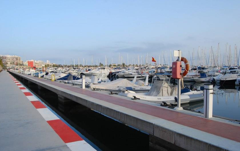 Location de vacances - Appartement à Santa Pola - Port de plaisance