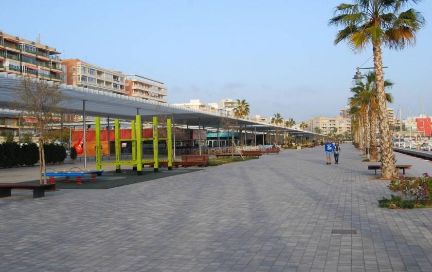Location de vacances - Appartement à Santa Pola - Restaurants sur Paseo