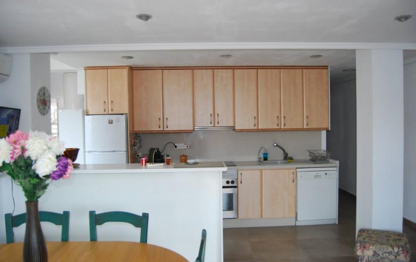 Location de vacances - Appartement à Santa Pola - Cuisine