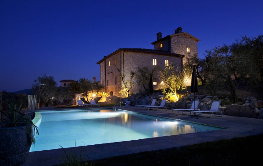 Location de vacances - Villa à San Donato In Collina - By night