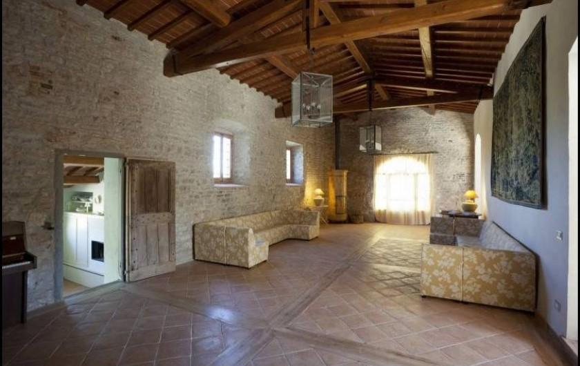 Location de vacances - Villa à San Donato In Collina - Grand salon