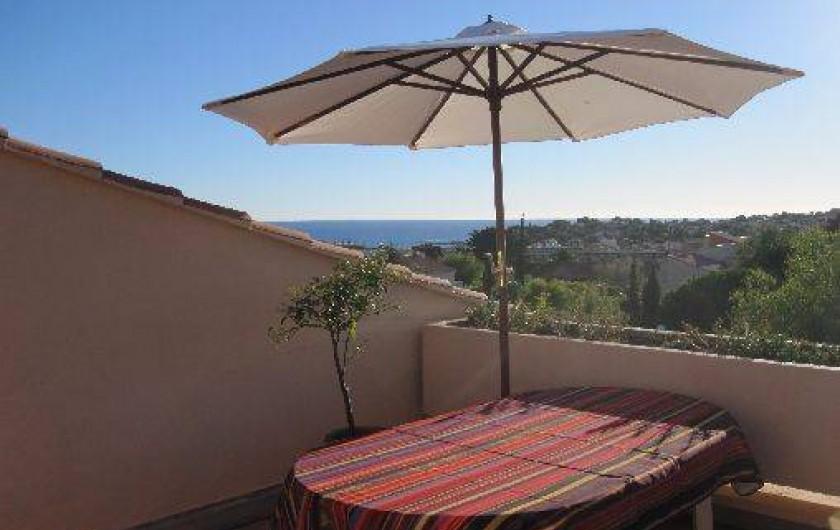 Location de vacances - Appartement à Carqueiranne - Vue panoramique