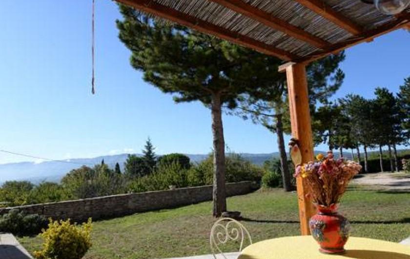 Location de vacances - Chambre d'hôtes à Apt - terrasse CH LAVANDE