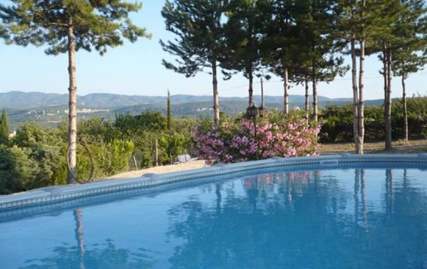 Location de vacances - Chambre d'hôtes à Apt - piscine