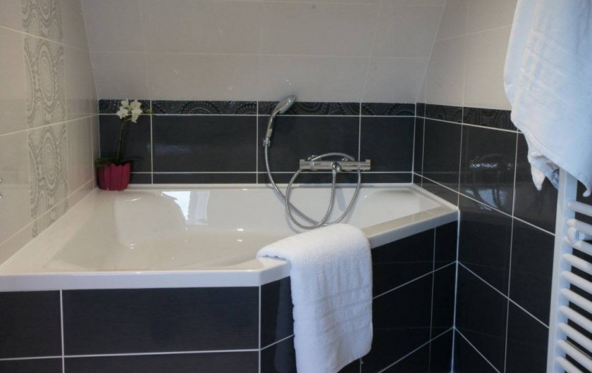 Location de vacances - Maison - Villa à Roscoff - baignoire
