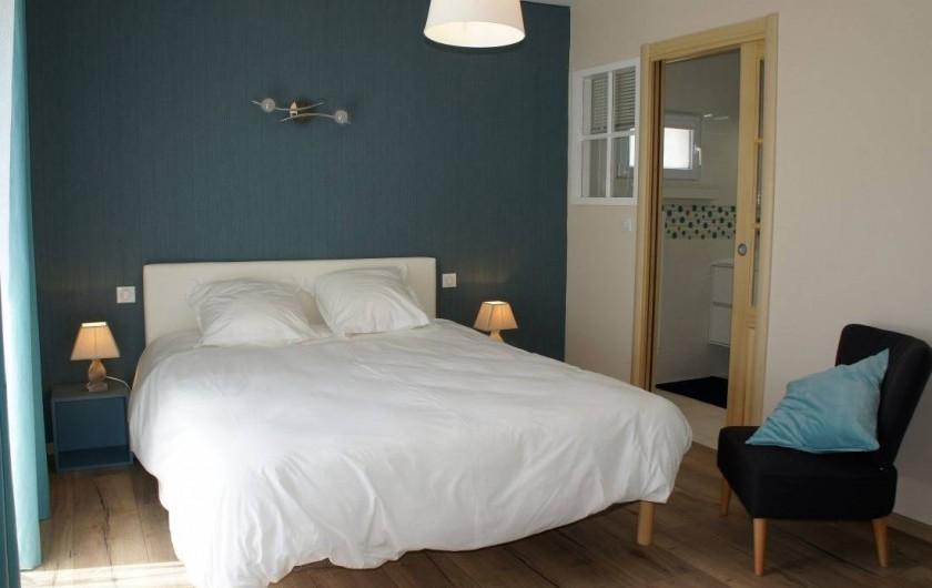 Location de vacances - Maison - Villa à Roscoff - chambre parentale