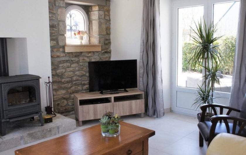 Location de vacances - Maison - Villa à Roscoff - salon