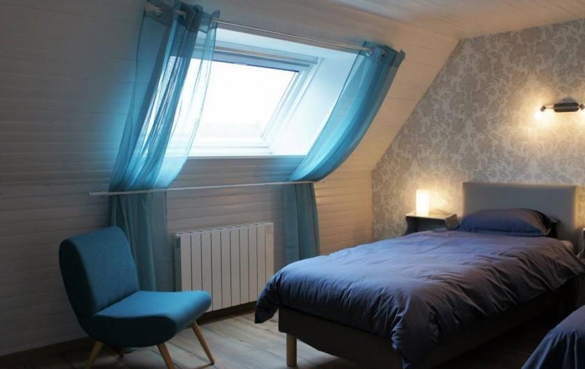 Location de vacances - Maison - Villa à Roscoff - chambre étage