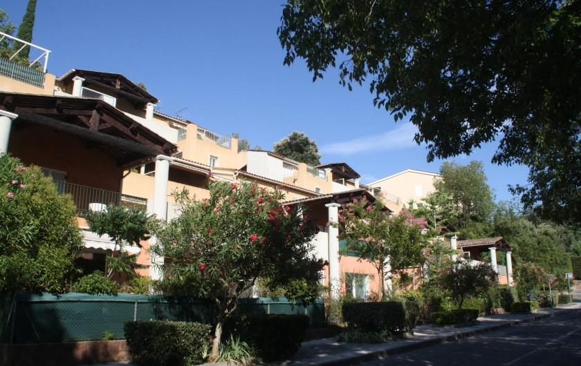 Location de vacances - Appartement à Valbonne