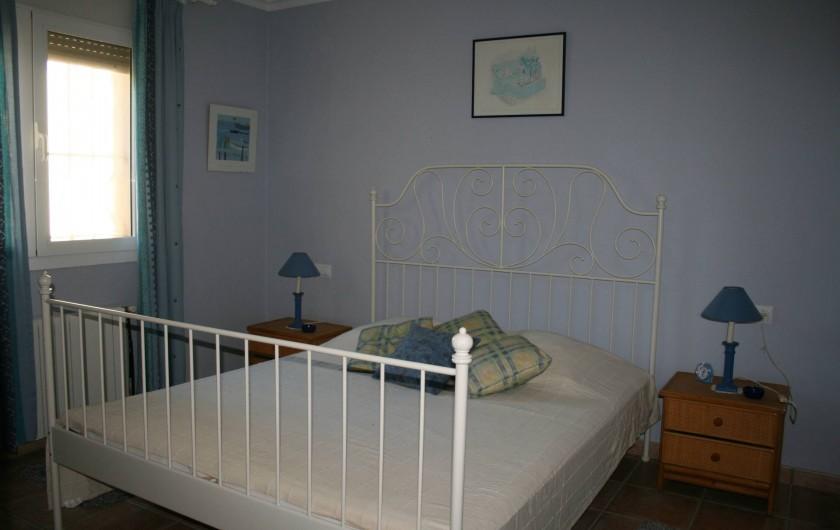 Location de vacances - Villa à Xàbia - Chambre du bas