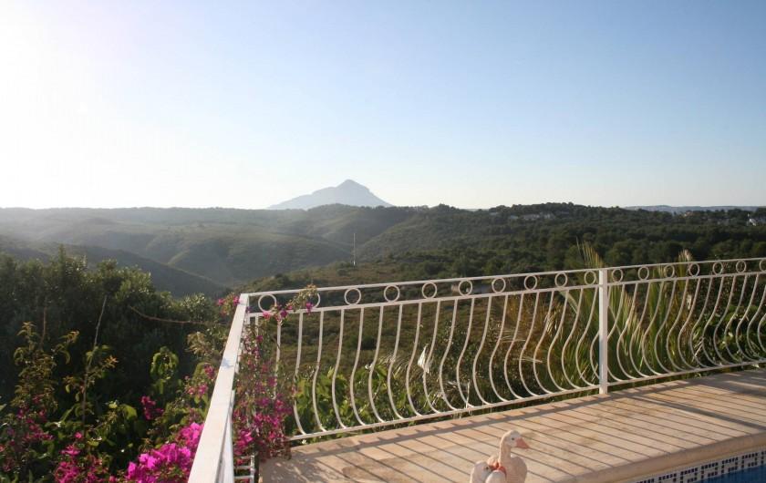 Location de vacances - Villa à Xàbia - Vue de la terrasse