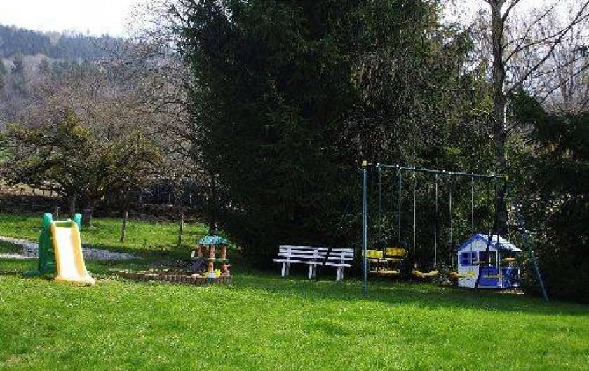 Location de vacances - Chalet à Faverges