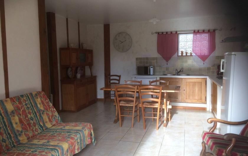 Location de vacances - Gîte à Lue - pièce principale du grand logement
