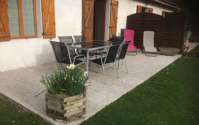 Location de vacances - Gîte à Lue - le terrasse du grand logement