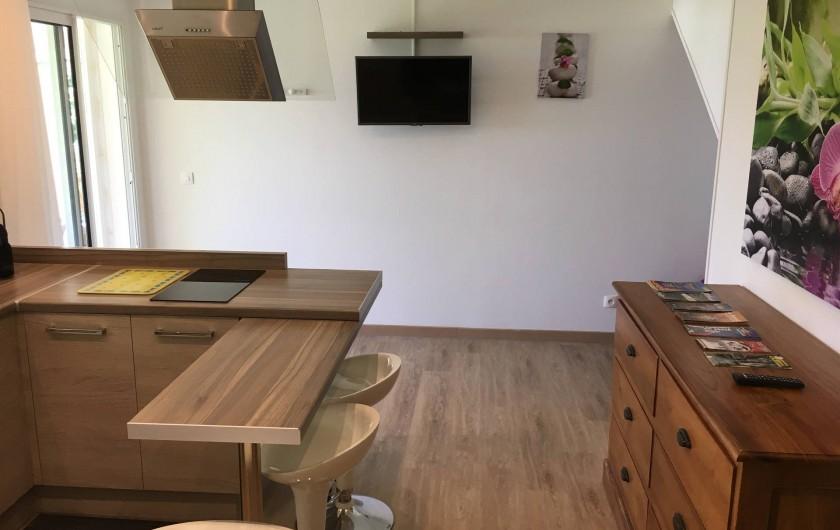 Location de vacances - Studio à Vincendo - cuisine équipé