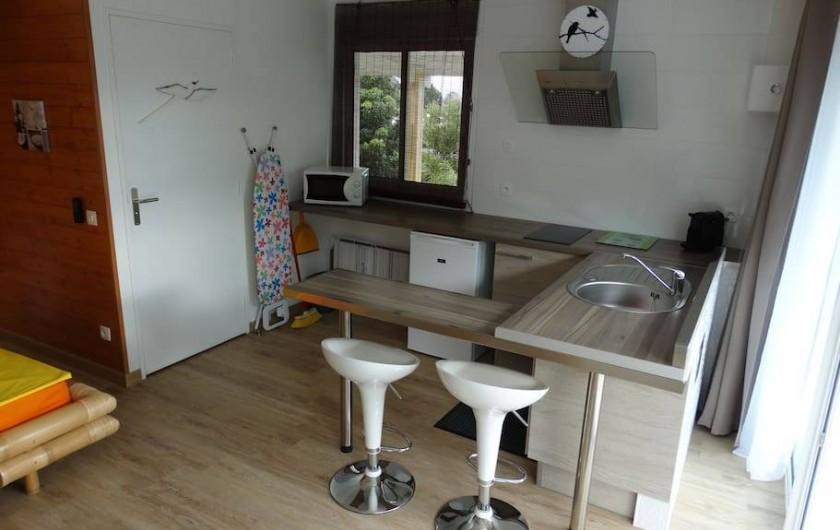 Location de vacances - Studio à Vincendo - Cuisine entièrement équipée