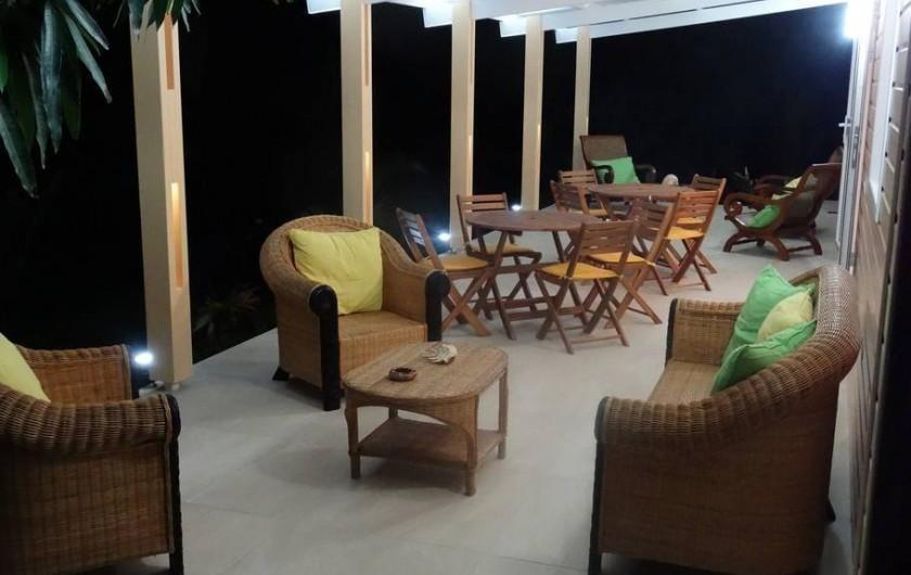 Location de vacances - Studio à Vincendo - Varangue, idéal pour se détendre après une journée de découverte