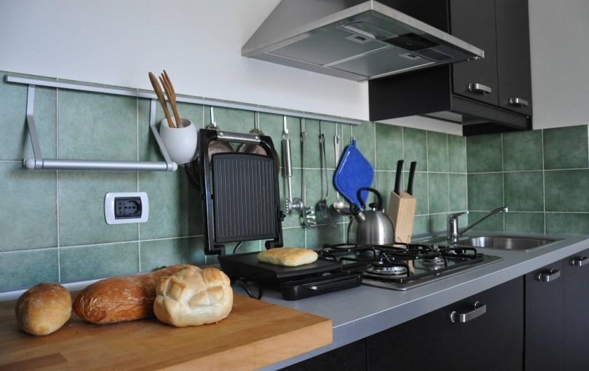 Location de vacances - Appartement à Bellano - appt 703 - cuisine