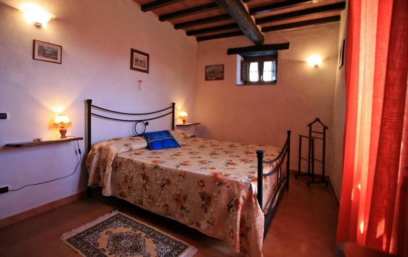 Location de vacances - Appartement à Cortona - Appartement Mimosa: Chambre double