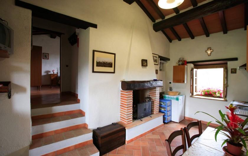 Location de vacances - Appartement à Cortona - Appartement la Rosa: Cuisine