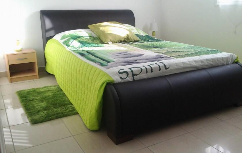 Location de vacances - Villa à Le Lamentin - Chambre verte n°1