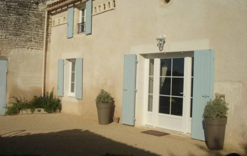 Location de vacances - Gîte à Neuvicq-le-Château - Façade