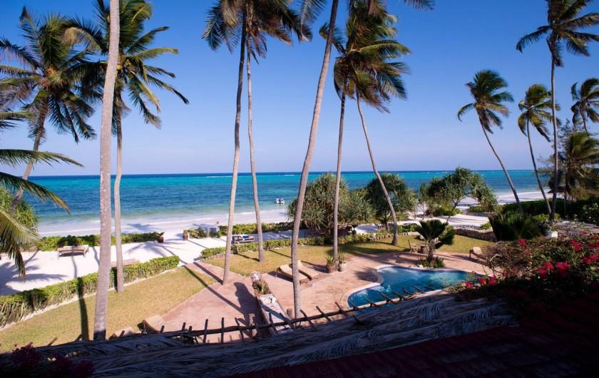 Location de vacances - Villa à Zanzibar - La vue depuis la terrace au 1er étage , pour les deux chambres .